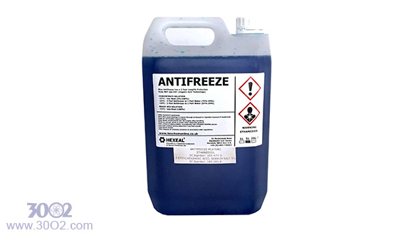 انواع مواد شیمیایی یخ زدای سیال